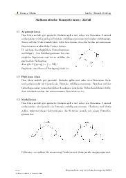 Aufgaben über Mathematische Kompetenzen - Zufall mit Erklärungen in Videos und Lösungen.