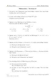 Aufgaben über Flächensätze - Vorwissen I mit Erklärungen in Videos und Lösungen.