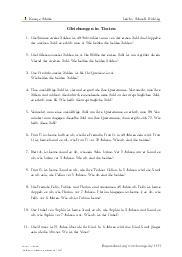 Aufgaben über Gleichungen in Texten mit Erklärungen in Videos und Lösungen.