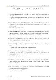 Aufgaben über Textgleichungen mit Brüchen für Profis 1v3 mit Erklärungen in Videos und Lösungen.
