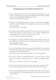 Aufgaben über Textgleichungen mit Brüchen für Profis 3v3 mit Erklärungen in Videos und Lösungen.