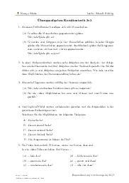Aufgaben über Übungsaufgaben Kombinatorik 3v3 mit Erklärungen in Videos und Lösungen.