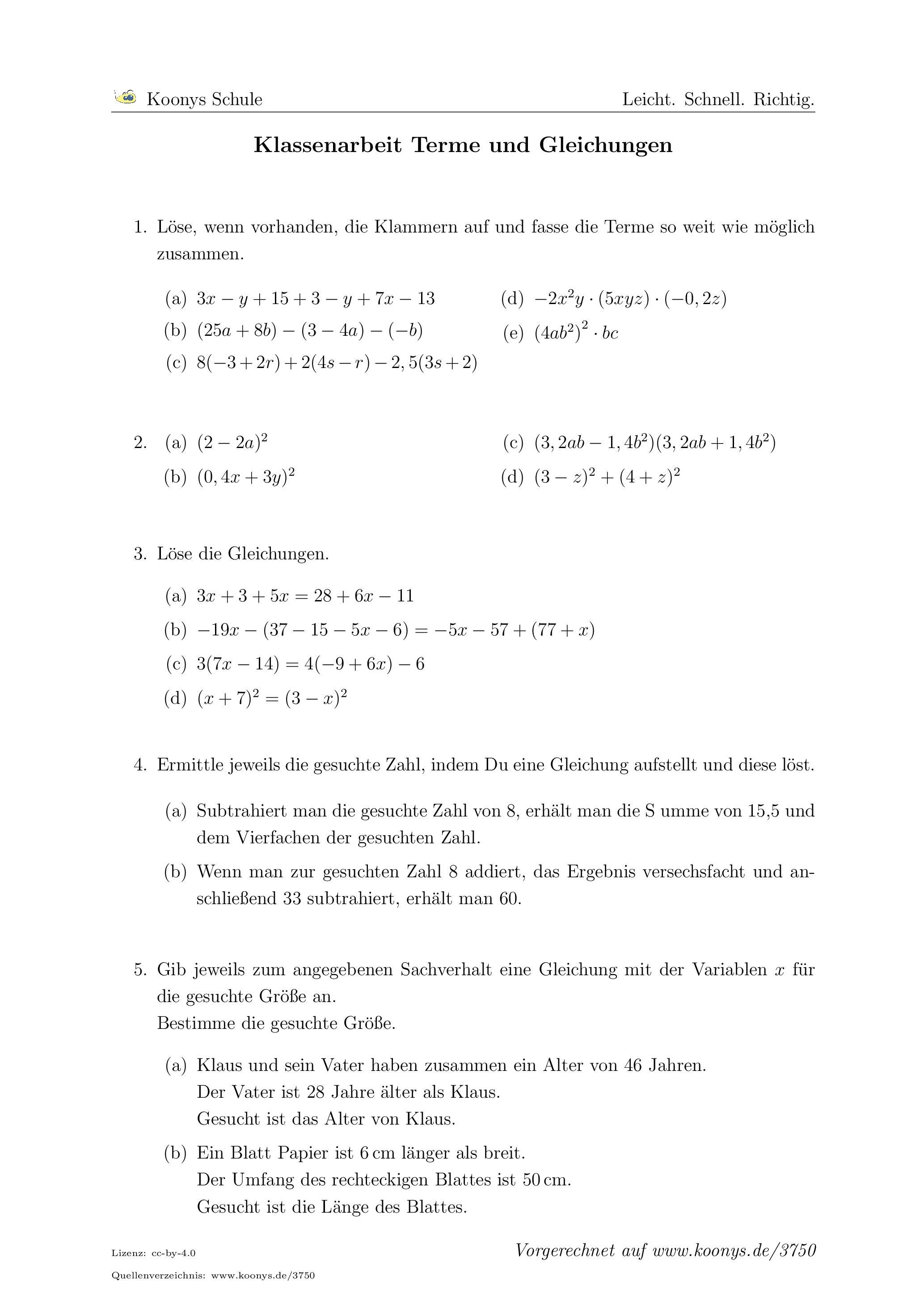 Wunderbar Lösung Rationale Gleichungen Arbeitsblatt Mit Antworten ...