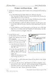 Aufgaben über Prozent- und Zinsrechnung | MSA mit Erklärungen in Videos und Lösungen.