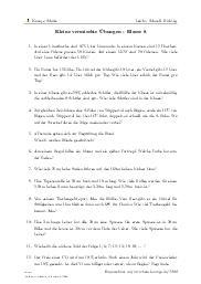 Klasse 8 | Arbeitsblätter mit Aufgaben, Lösungen und Videos