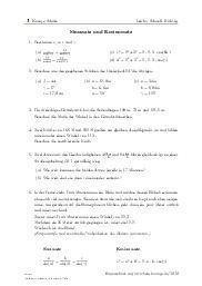 Aufgaben über Sinussatz und Kosinussatz mit Erklärungen in Videos und Lösungen.